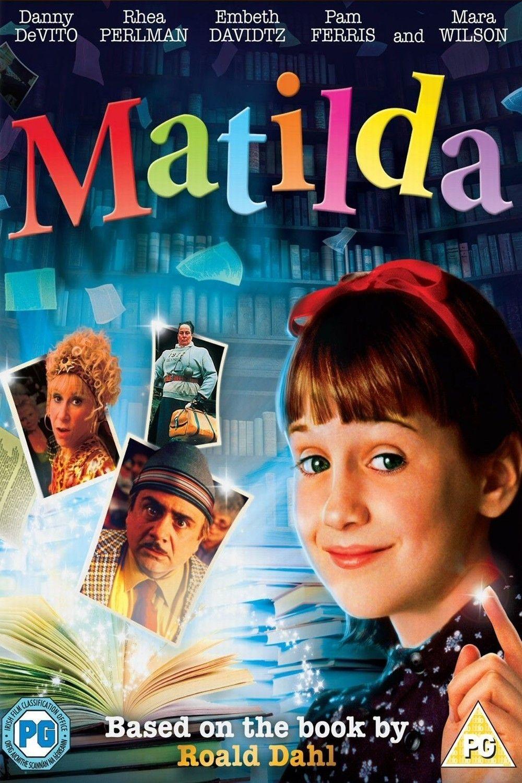 Movie Review Matilda 1996 Matilda Roald Dahl Books Matilda Movie