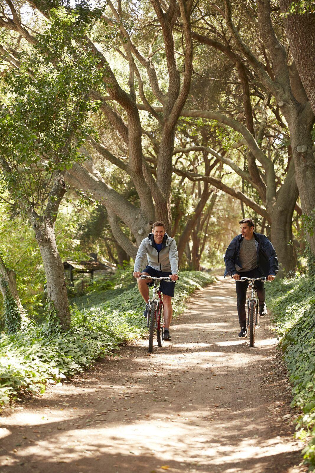 30 Miles Of Hiking And Biking Trails At Golden Door In San Marcos Ca Bike Trails Golden Door Country Roads