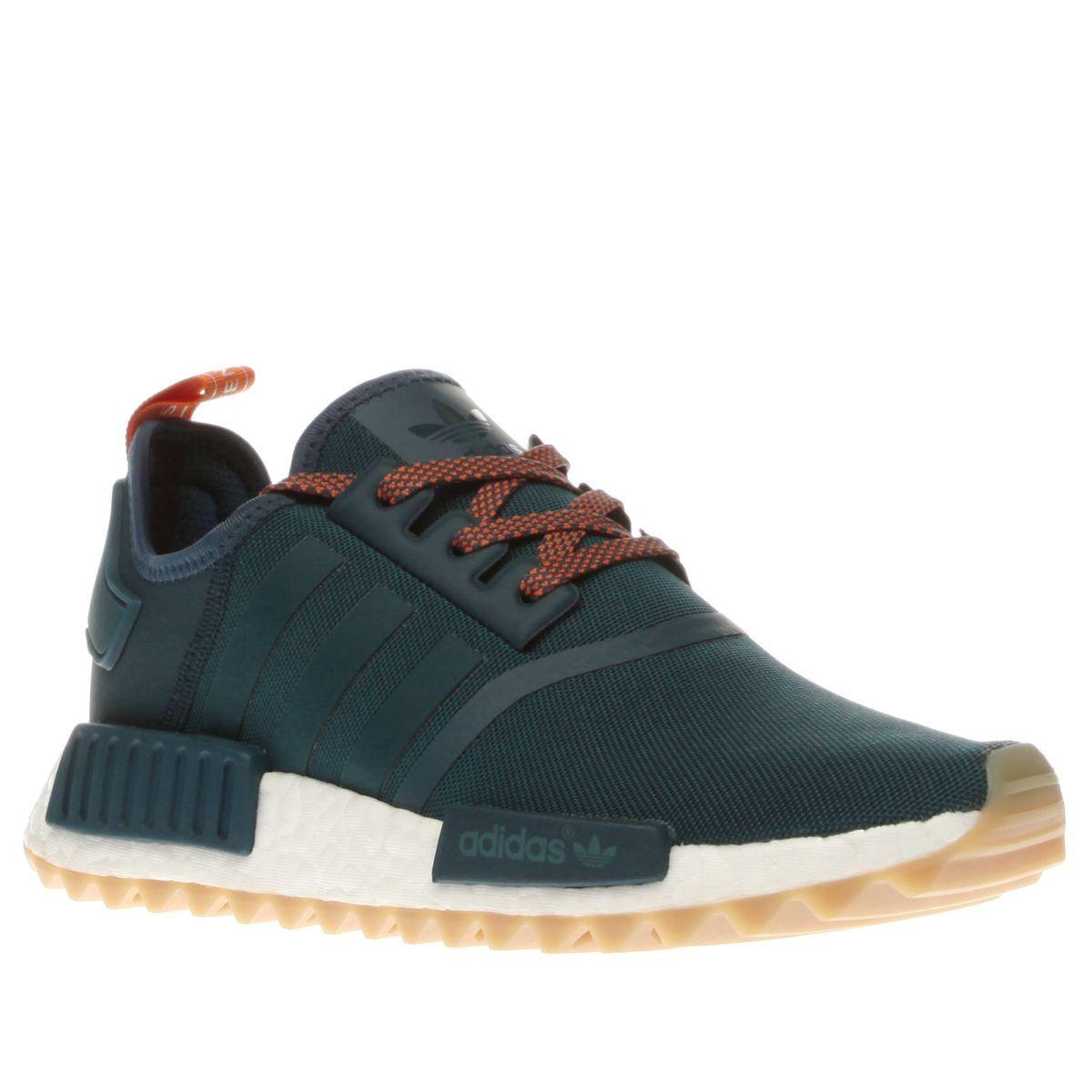 ada5ca8b7 womens adidas turquoise nmd-r1 trail trainers