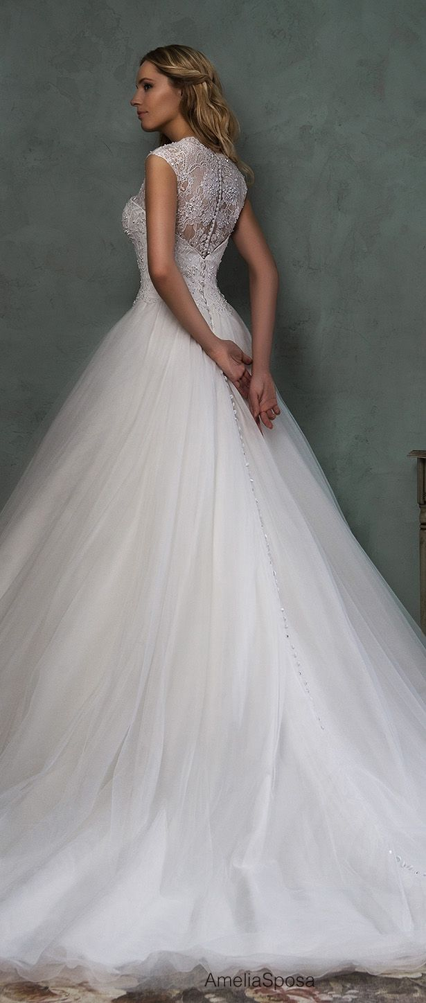 Gown dress for wedding party  Amelia Sposa  Bridal Collection  Wedding Dresses  Pinterest