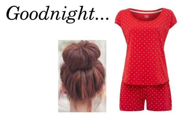 """""""Goodnight..."""" by fairydust169 ❤ liked on Polyvore featuring Tommy Hilfiger"""