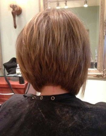 Really Popular Inverted Bob Back View Pictures Hair Pinterest