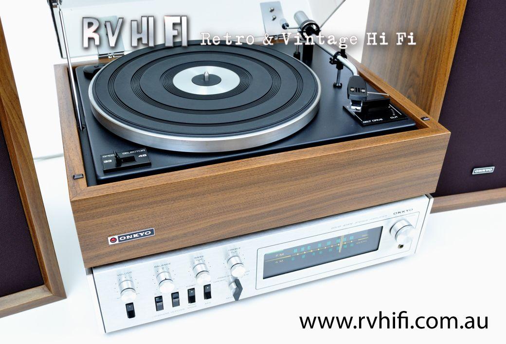 onkyo df 800 stereo system rv hifi online store www. Black Bedroom Furniture Sets. Home Design Ideas