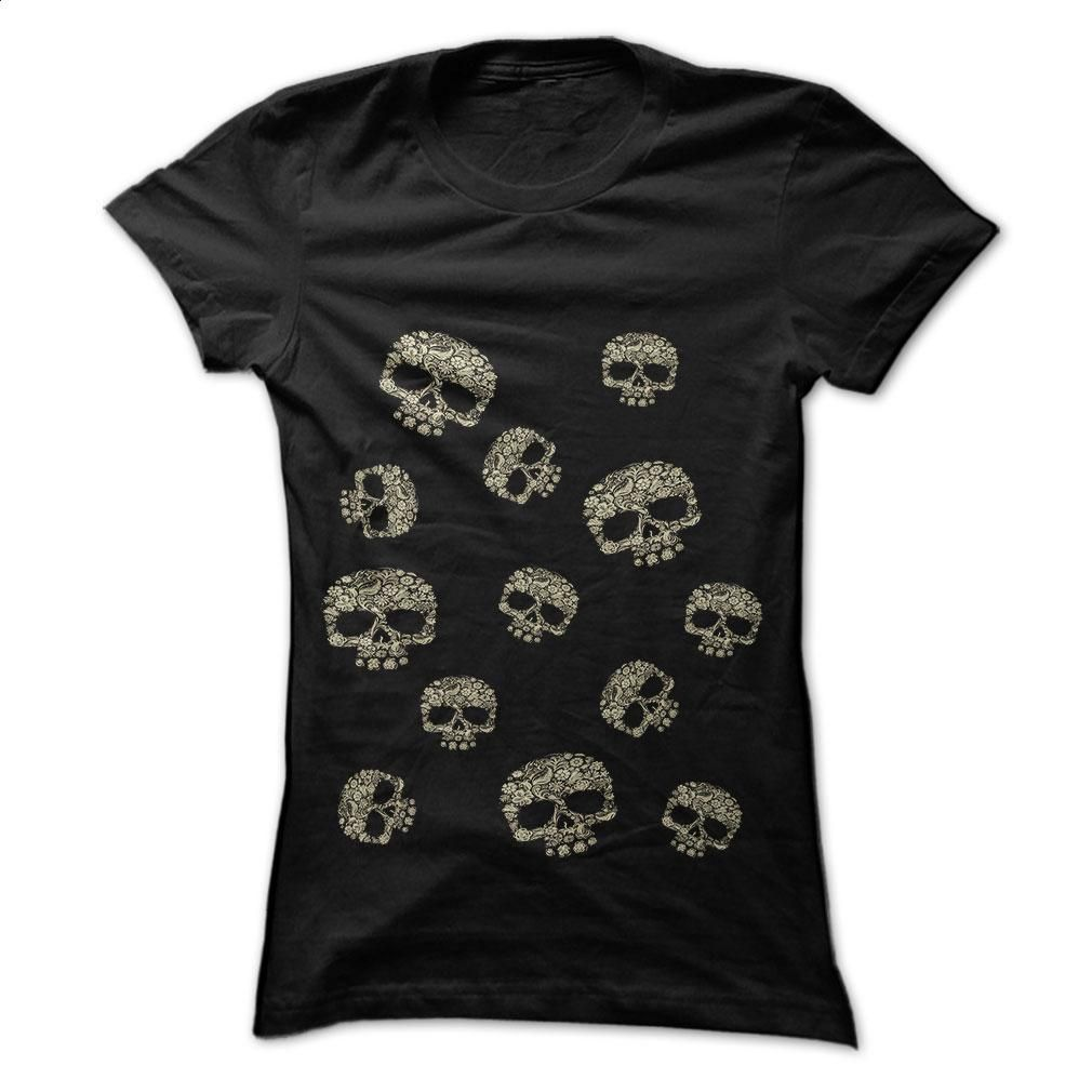 The deaths head is beautiful T Shirt, Hoodie, Sweatshirts - custom hoodies #teeshirt #Tshirt