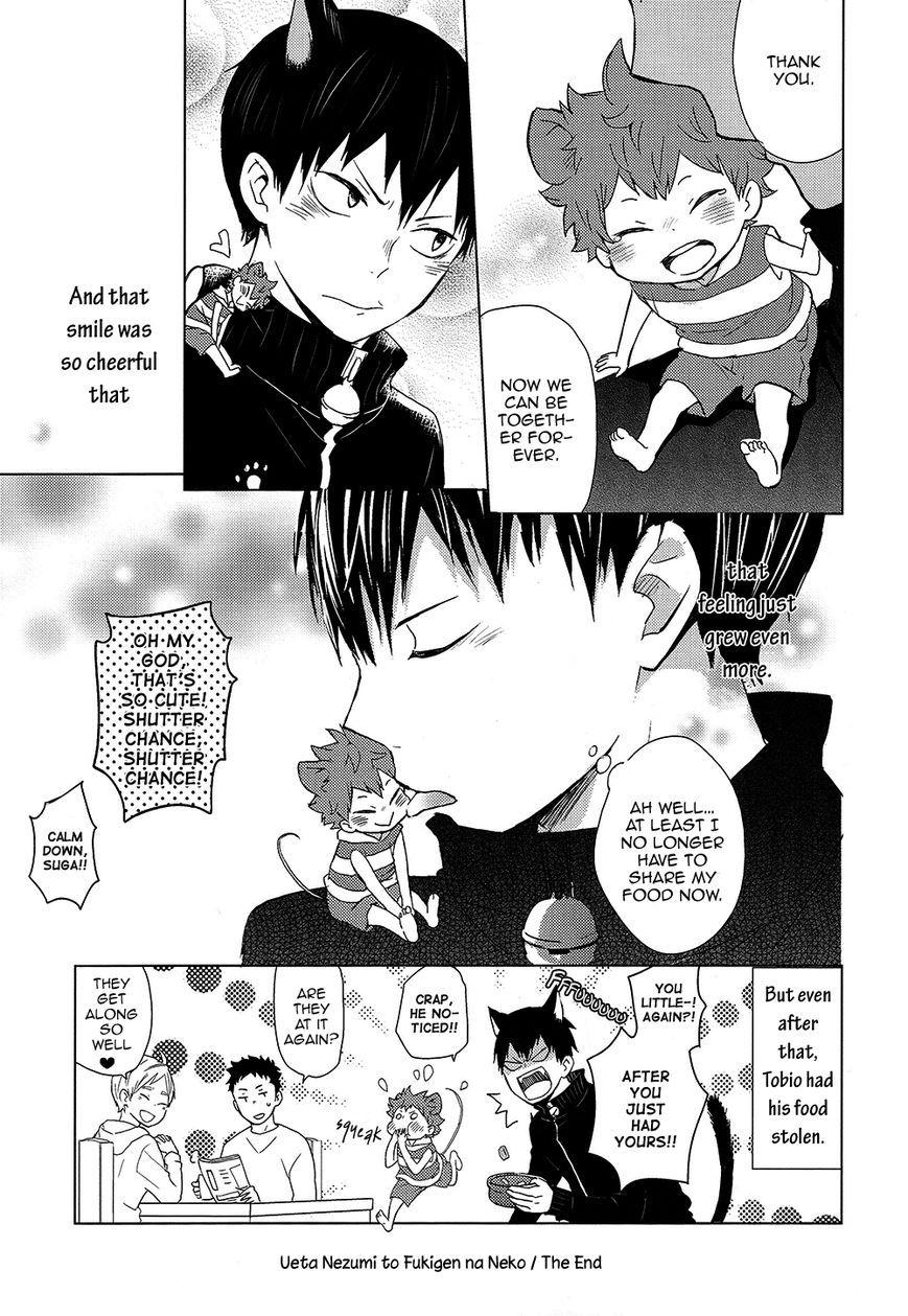 Haikyu!! dj - Ueta Nezumi to Fukigen na Neko 3 Page 19