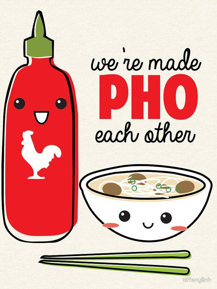 You're the One Pho Me Card | Kawaii cuteness | Cute puns ...