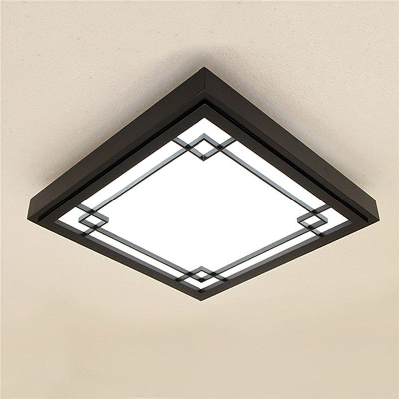 Modern Black Ceiling Light Nordic Simple Led Ceiling Light Living
