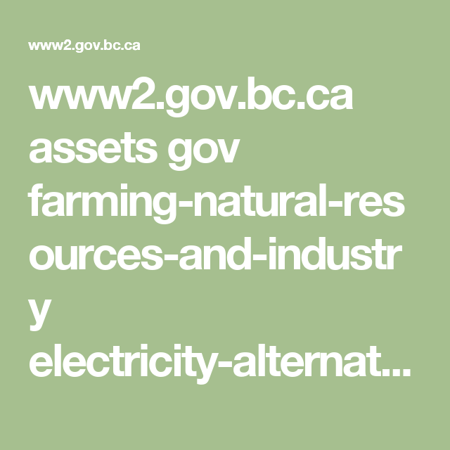 www2.gov.bc.ca assets gov farming-natural-resources-and-industry electricity-alternative-energy electricity bc_bioenergy_primer.pdf