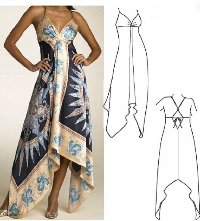 Blusas de gasa | Zxx/ Costura y patrones | Pinterest | Vestidos ...