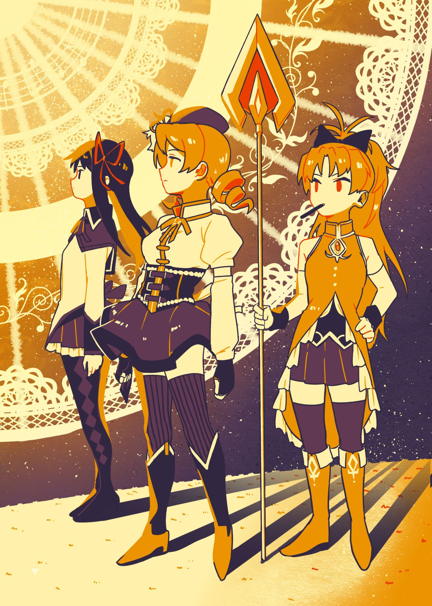 Huevember Day 5 The Law of Cycles Madoka magica, Anime