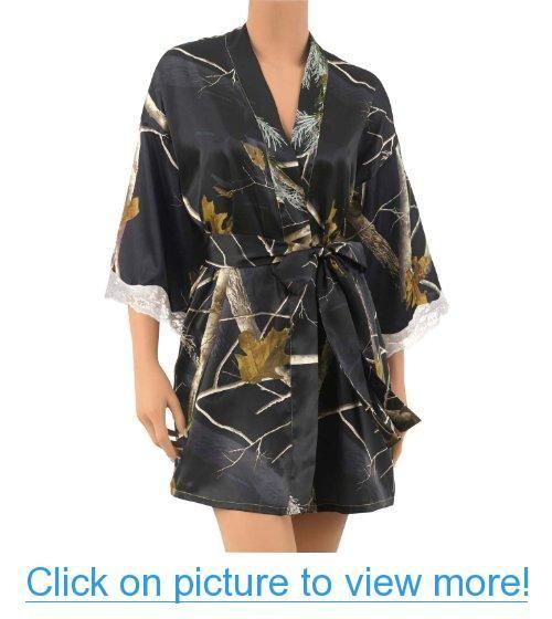 Legendary Whitetails Legendary Lace Trimmed Kimono Robe  84bf8223c