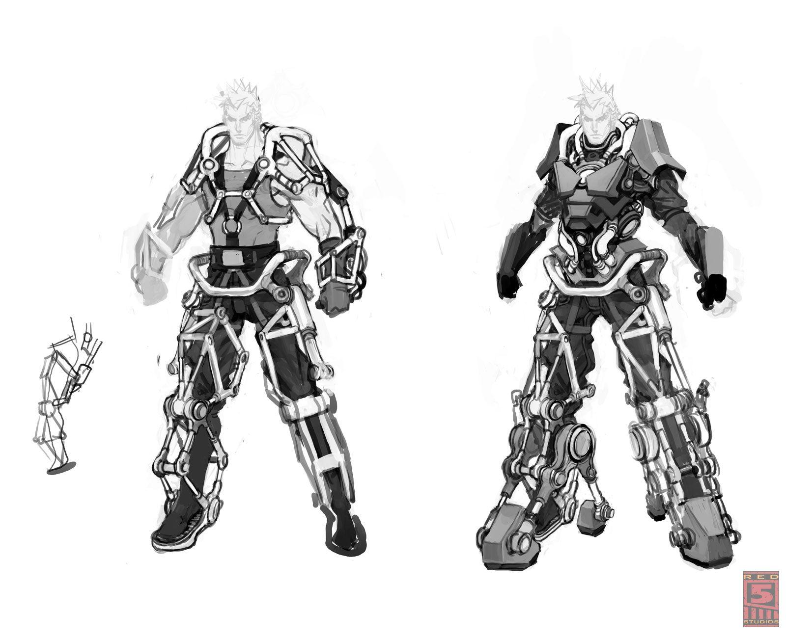 Firefall Battleframe Concept Art