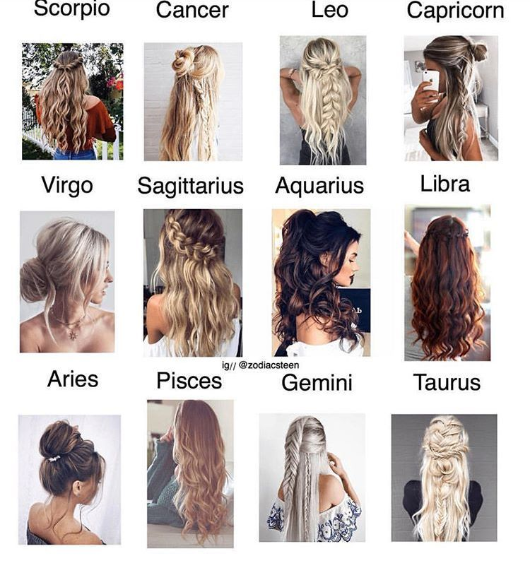 Hairstyles Zodiac Signs _ Hair Zodiac Signs