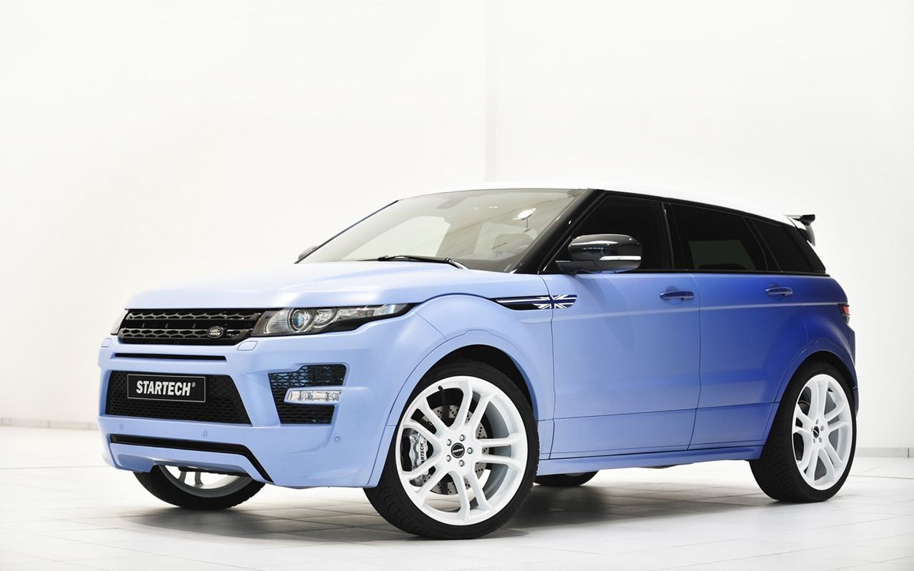 2013 Startech Range Rover Evoque Si4 (With images) Range