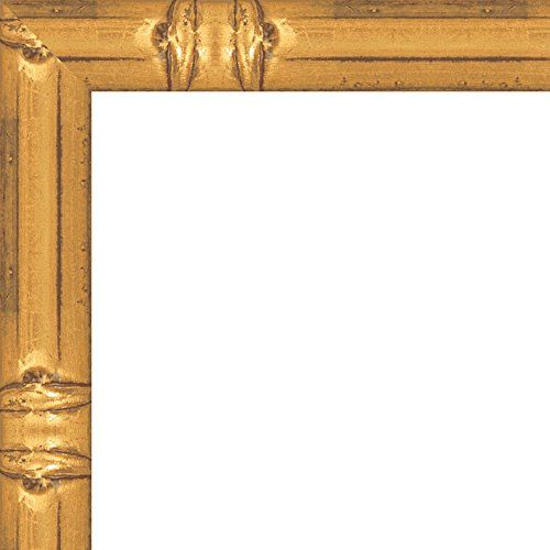 8x10 solid gold bamboo style wood frame