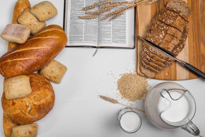 Bread Header Background | Food photo, Bread