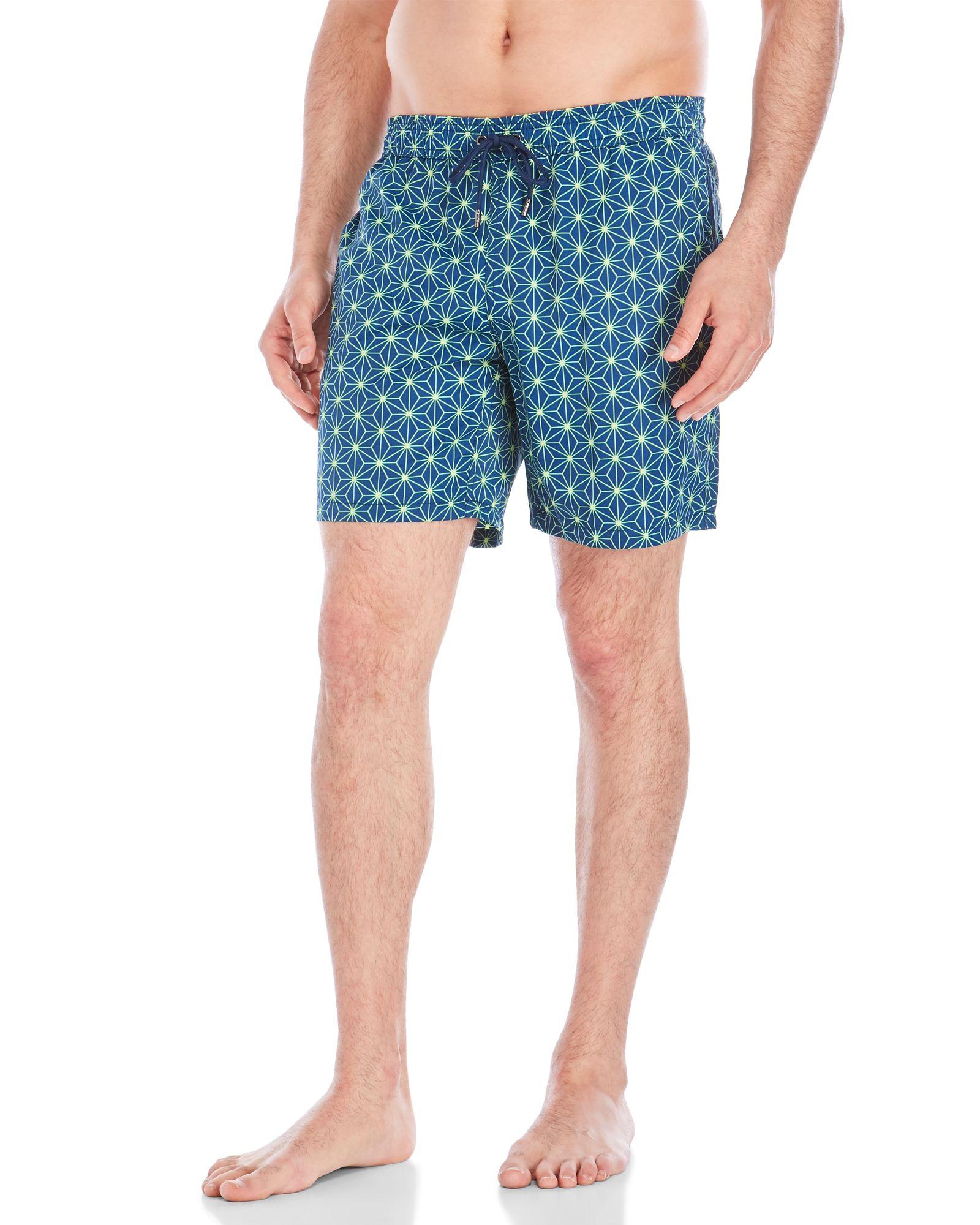 Mr. Swim Geo Star Swim Trunks