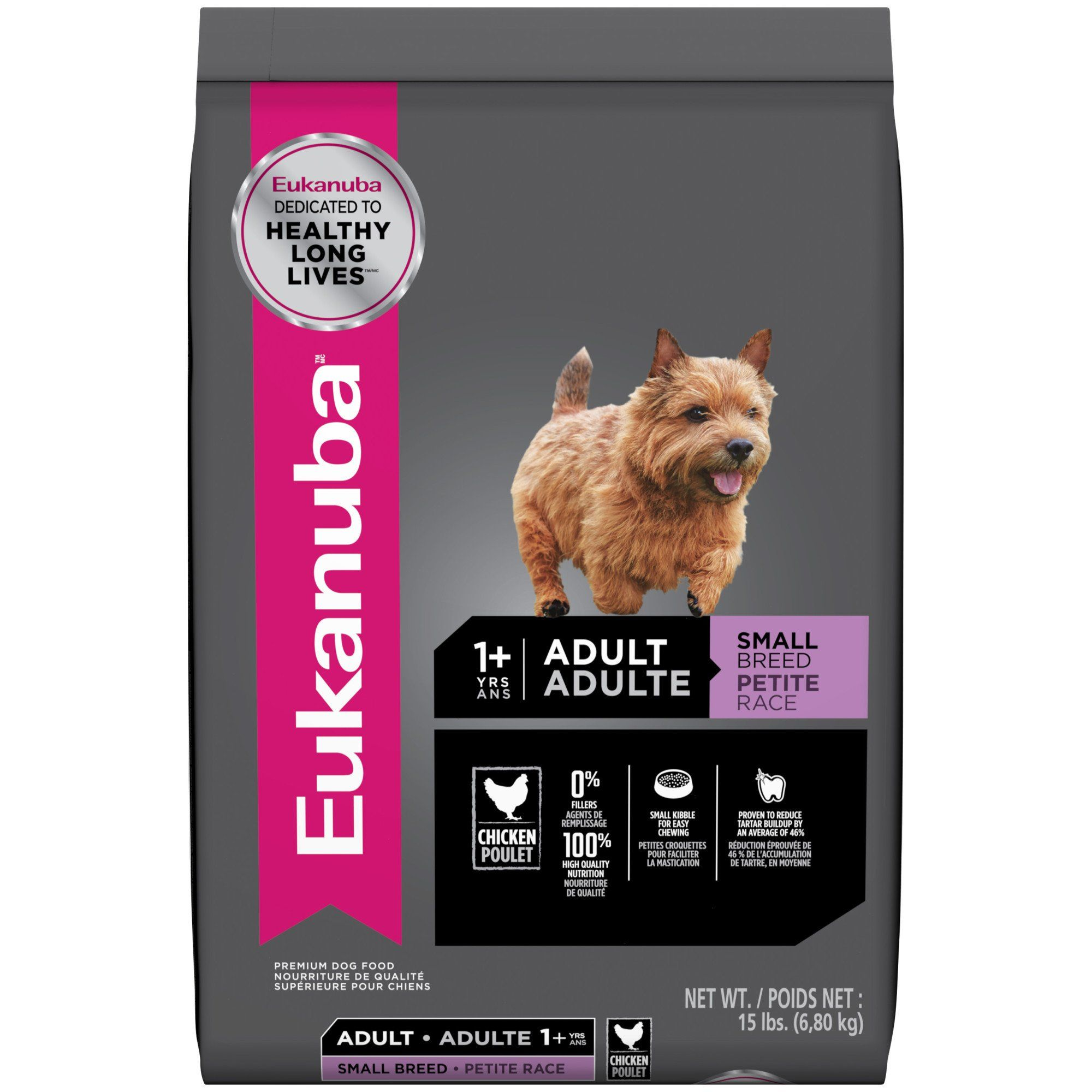 Eukanuba Small Breed Adult Dog Food 15 Lbs In 2020 Dog Food