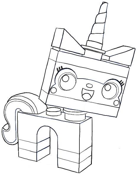 How to Draw Unikitty Minifigure