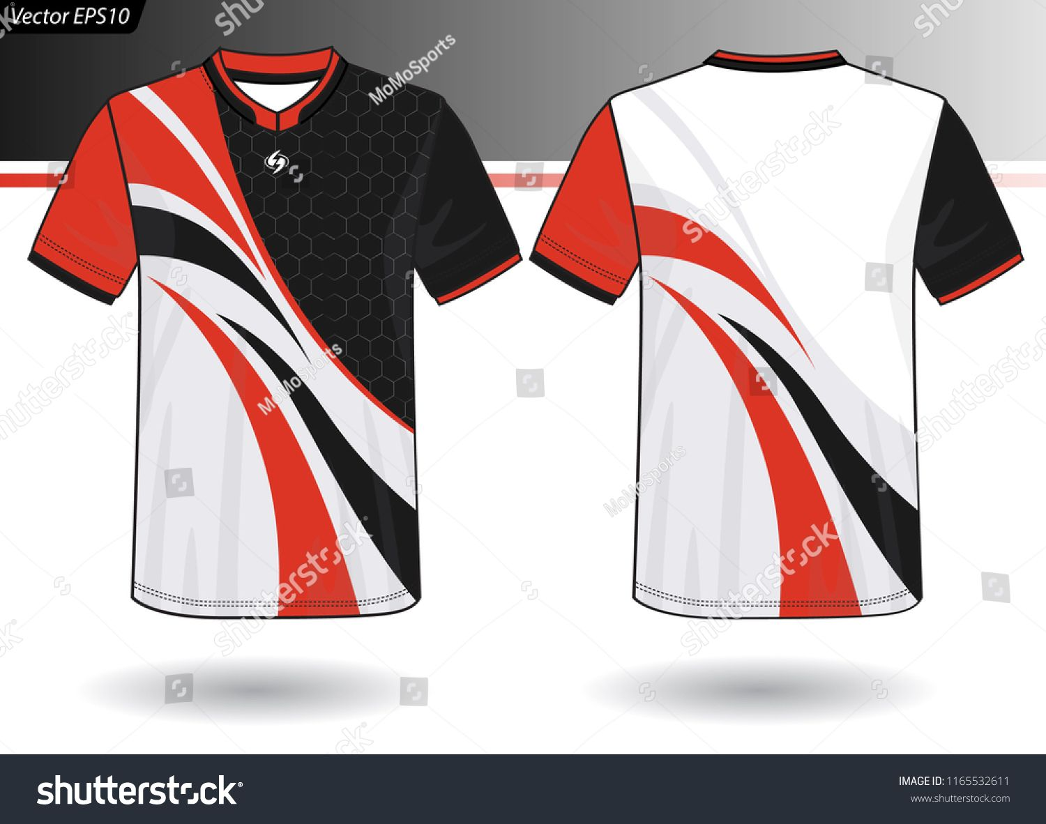 Sports Jersey Template For Team Uniforms Jersey Sports Template