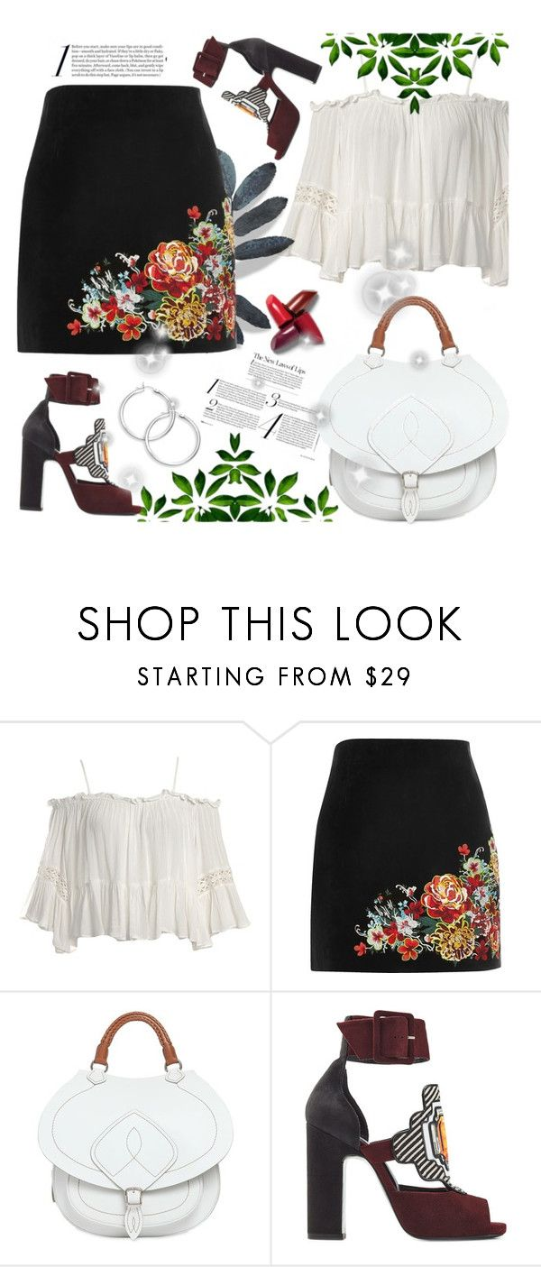 """party style"" by ainzme ❤ liked on Polyvore featuring Sans Souci, River Island, Maison Margiela and Pierre Hardy"