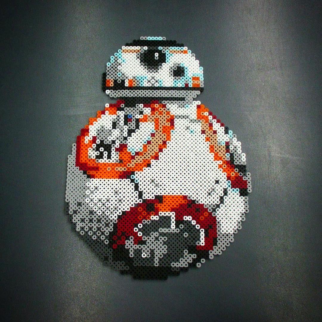 BB-8 Droid Perler