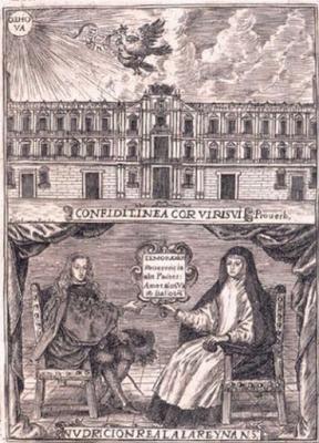 REINADO DE CARLOS II: Los retratos dobles de Mariana de Austria y Carlos II (PARTE V Y FINAL)