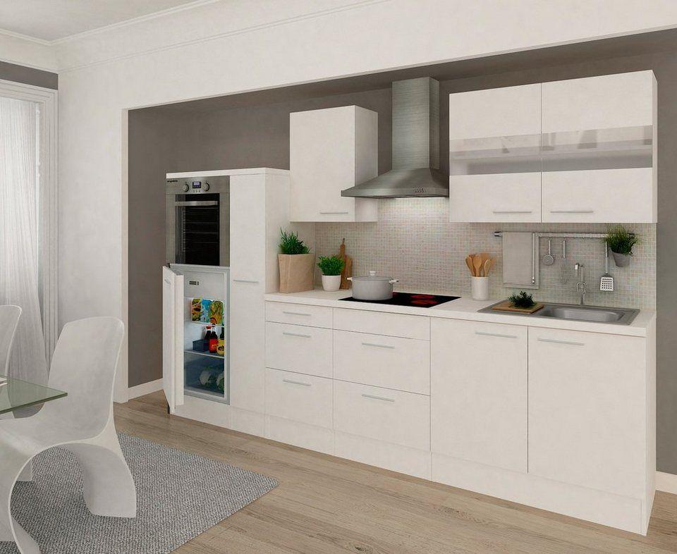 Kuchenzeile Mit E Geraten Premium Breite 300 Cm Kuchenzeilen Kuche Kuche Esszimmer