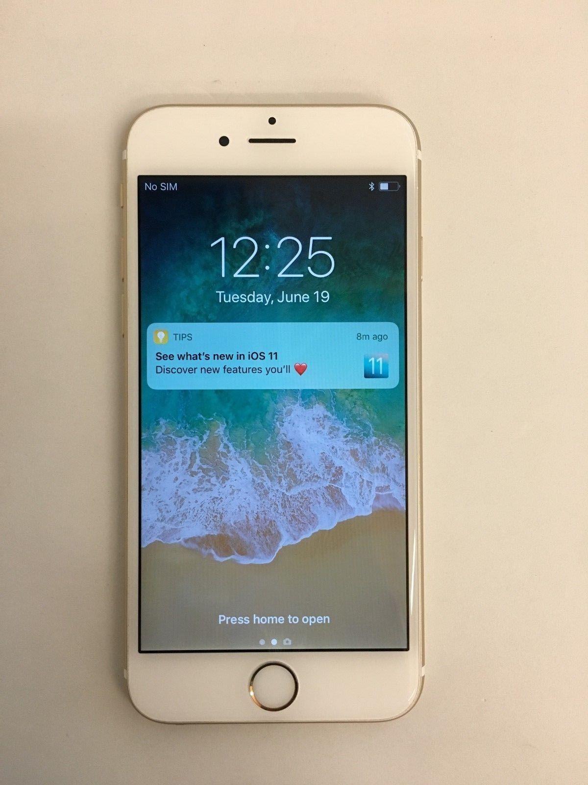 Apple Iphone 6s 64gb Gold Unlocked A1688 Cdma Gsm Ca Ebay Link Apple Iphone 6s Samsung Galaxy Phone Iphone