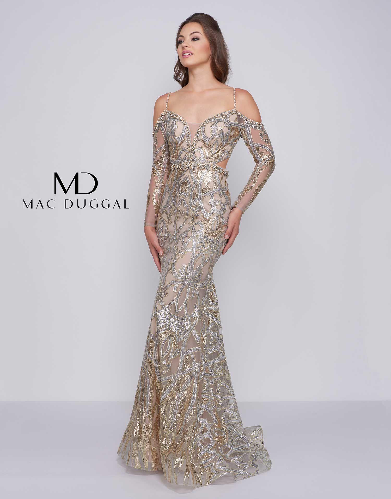 Mac Duggal Sequin Gown | Nordstrom | Sequin gown, Mob