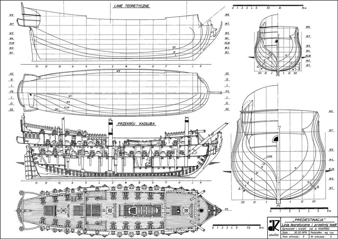 Drawings For Hms Victory