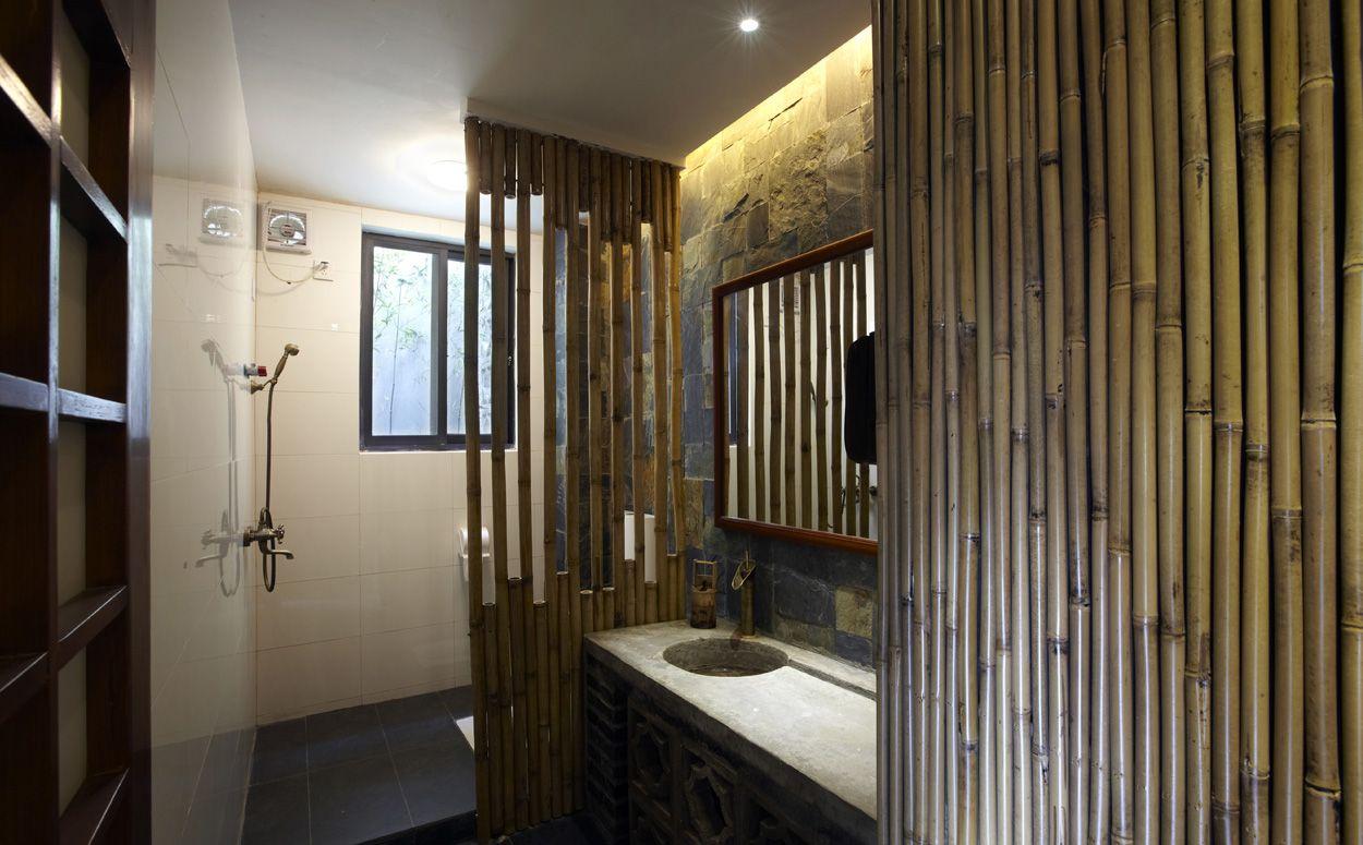 Feng Shui badkamer met bamboe - badkamer ideeën | Pinterest - Feng ...