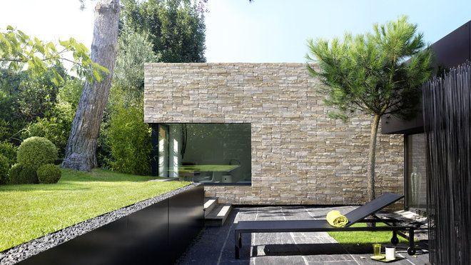 habiller vos murs d un parement haute couture maison pinterest parement habille et mur. Black Bedroom Furniture Sets. Home Design Ideas