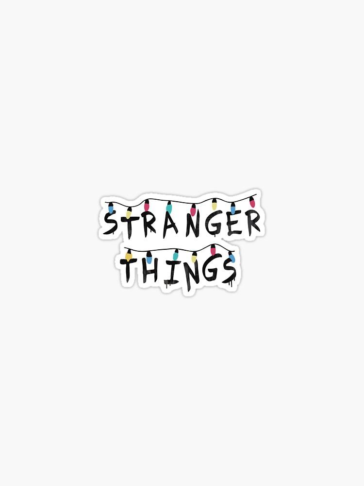 Stranger Things Stickers By Graceodonn Redbubble Stranger Things Sticker Stranger Things Stranger Things Wallpaper