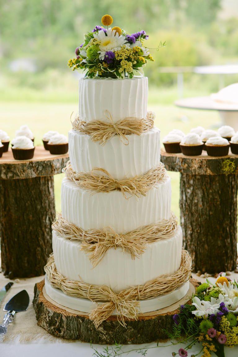 7 Beautiful Buttercream Frosted Wedding Cakes Wedding