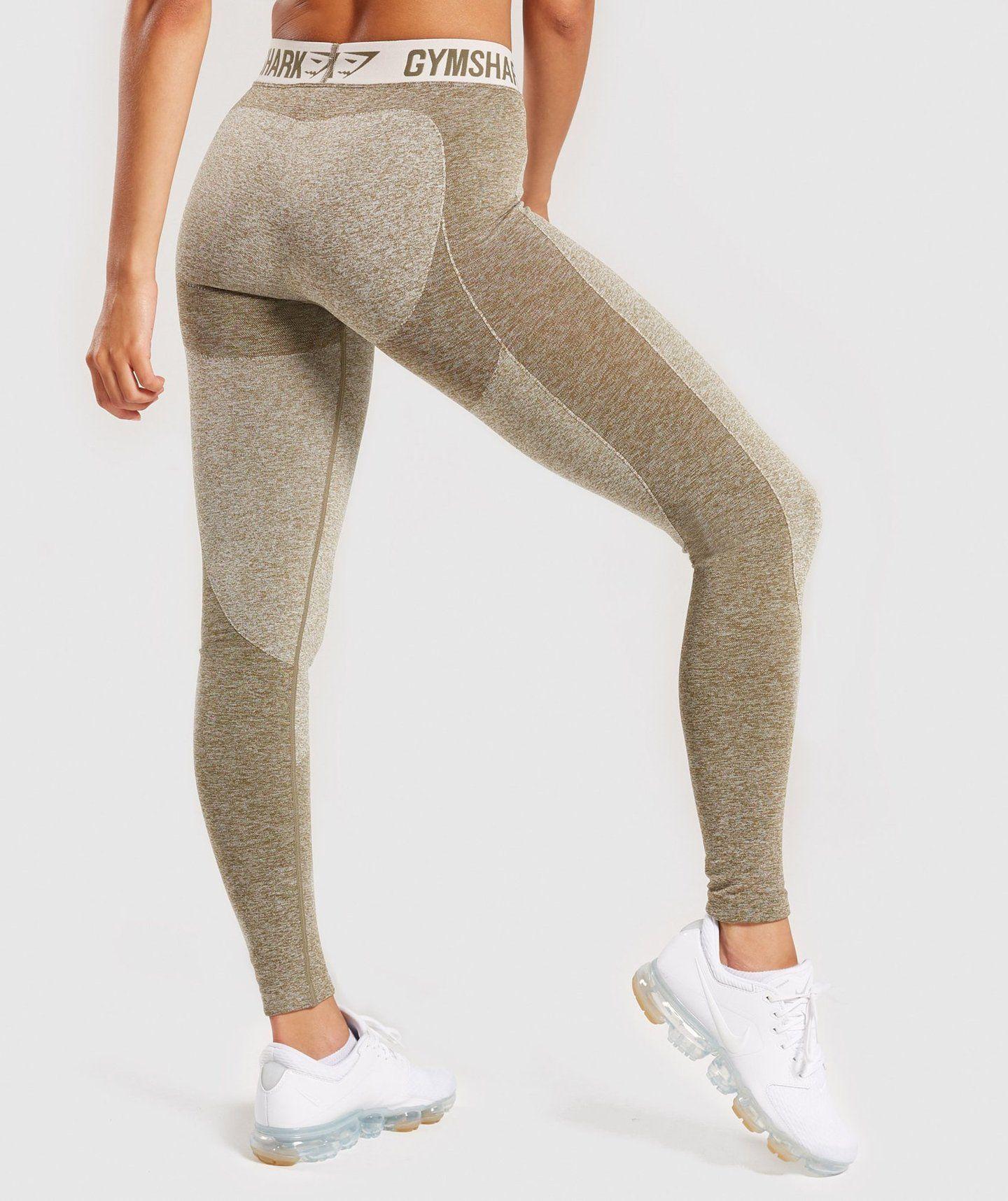 6fd33f8c0511d Gymshark Flex Leggings - Khaki/Sand 4 | Workout Clothing | Gymshark ...