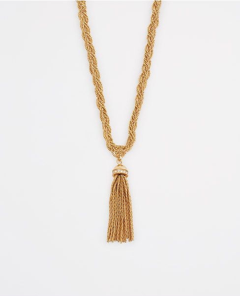Thumbnail Image of Color Swatch 3019 Image of Braided Tassel Pendant