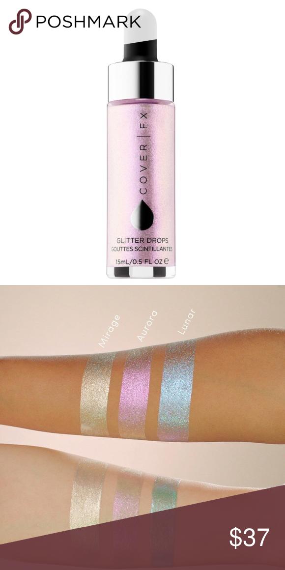 Cover Fx Glitter Drops In The Color Aurora Multi Tonal Pink