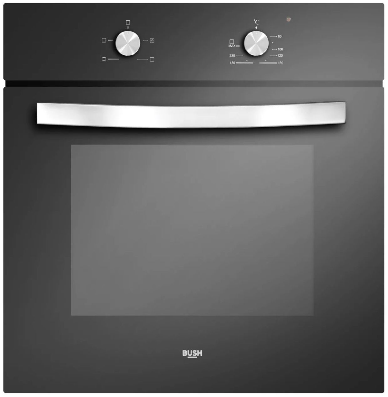 Details About Bush Dhbsob Built In Single Electric Oven Black