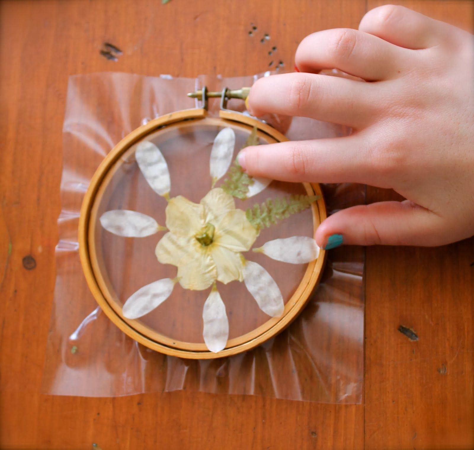 Twig And Toadstool Mandala Sun Catchers With Wooden Hoop