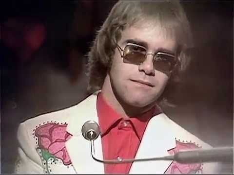 Elton John Christmas Song.Elton John Your Song Live On Top Of The Pops 1971
