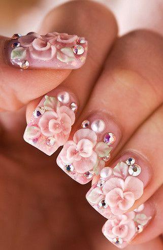 beautiful 3d nail sticker ,nail wrap