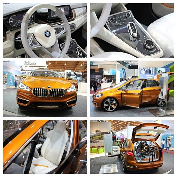 All New Bmw Active Tourer Outdoor Concept A Fresh New Spin On The