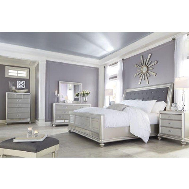 Ashley Furniture In Fresno Ca: Coralayne Sleigh Bedroom