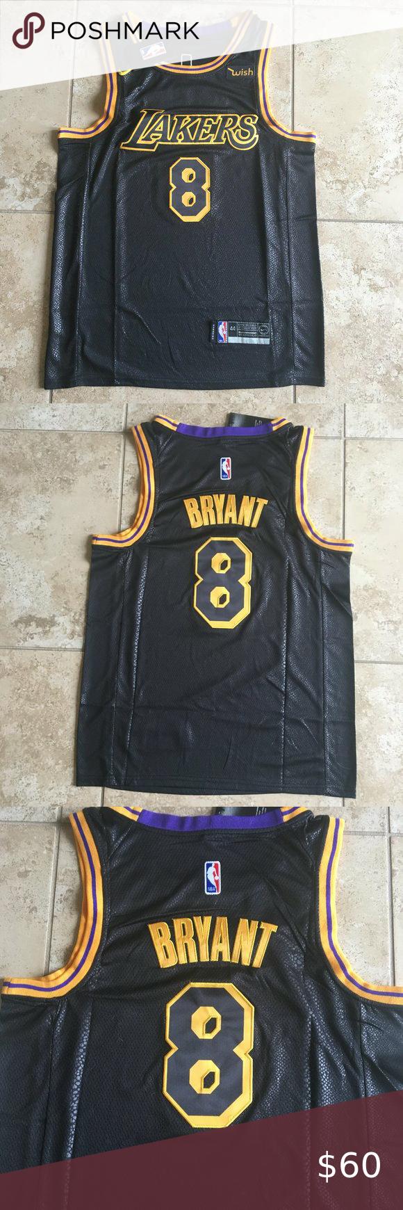 Kobe Lakers S M Black Mamba City Edition Jersey In 2020 Nba Jersey Outfit Kobe Bryant Black Mamba Black Mamba