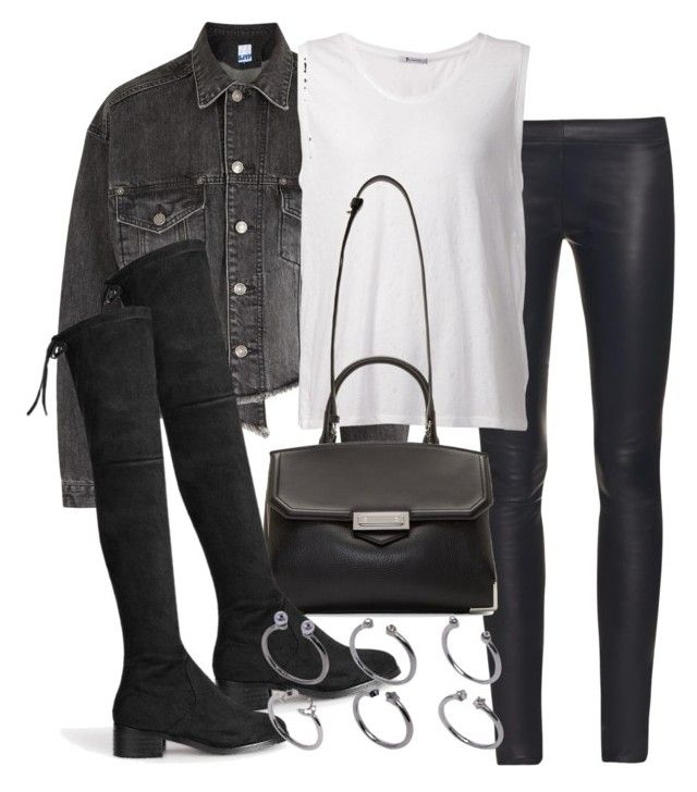 """""""Untitled #1936"""" by mariie00h ❤ liked on Polyvore featuring SJYP, The Row, T By Alexander Wang, Alexander Wang, ASOS and Inspired"""
