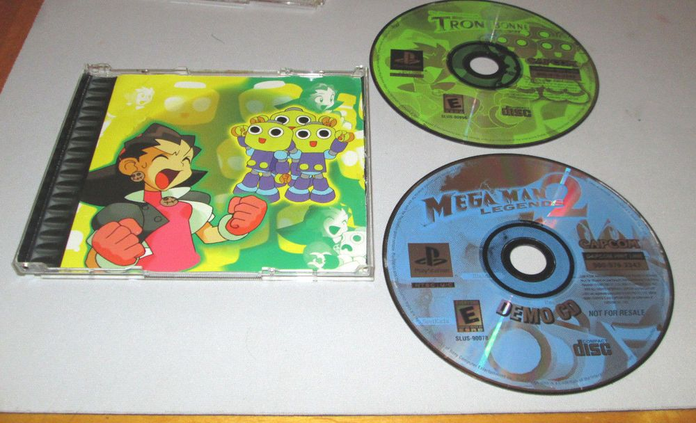 THE MISADVENTURES OF TRON BONNE Playstation PS1 w/ demo disc