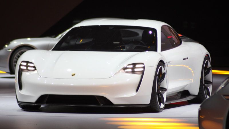 Porsche S Mission E Will Be Priced To Lure Away Tesla Shoppers Mission E Porsche Mission Porsche