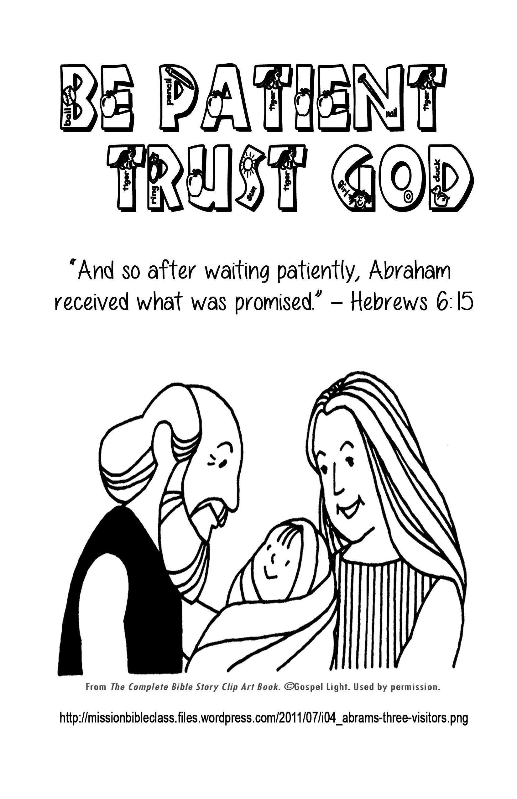 Fruits Of The Spirit Lesson 5 Part 1 Patience Hebrews 6 15 Lesson Patience Is Not Easy But Memory Verses For Kids Bible For Kids Bible Lessons For Kids [ 2550 x 1650 Pixel ]