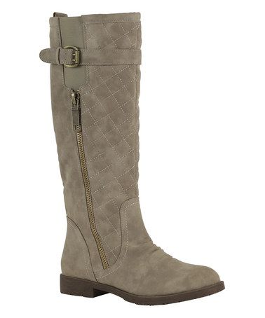 Another great find on #zulily! Sand Leisure Riding Boot by Nature Breeze #zulilyfinds